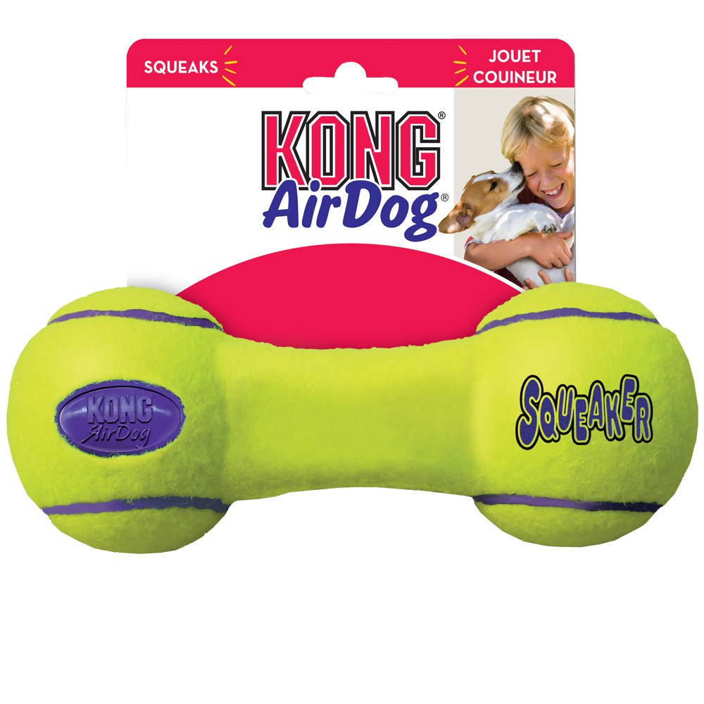 Air KONG Squeaker Dumbbell - Medium im test