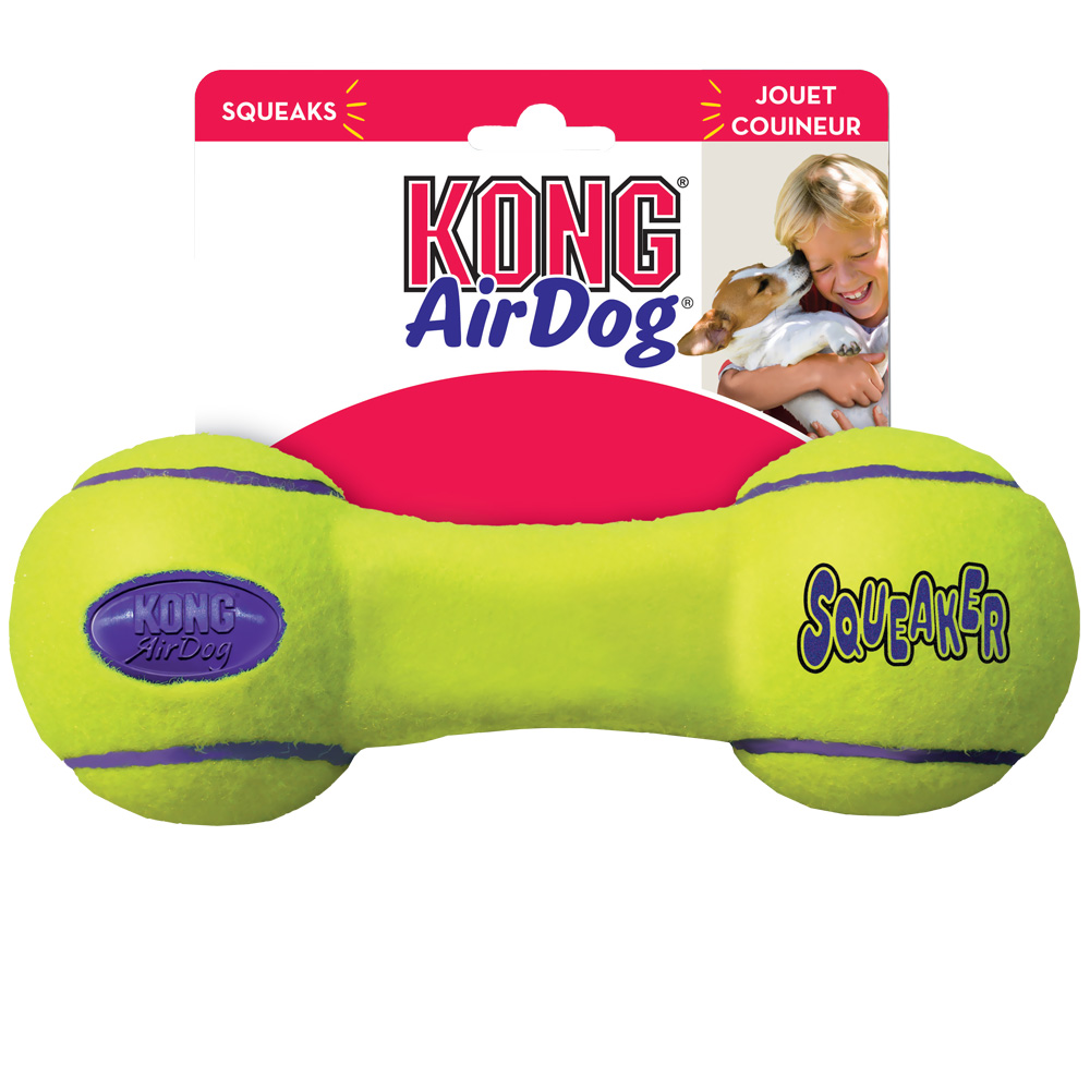 Air KONG Squeaker Dumbbell - Small im test