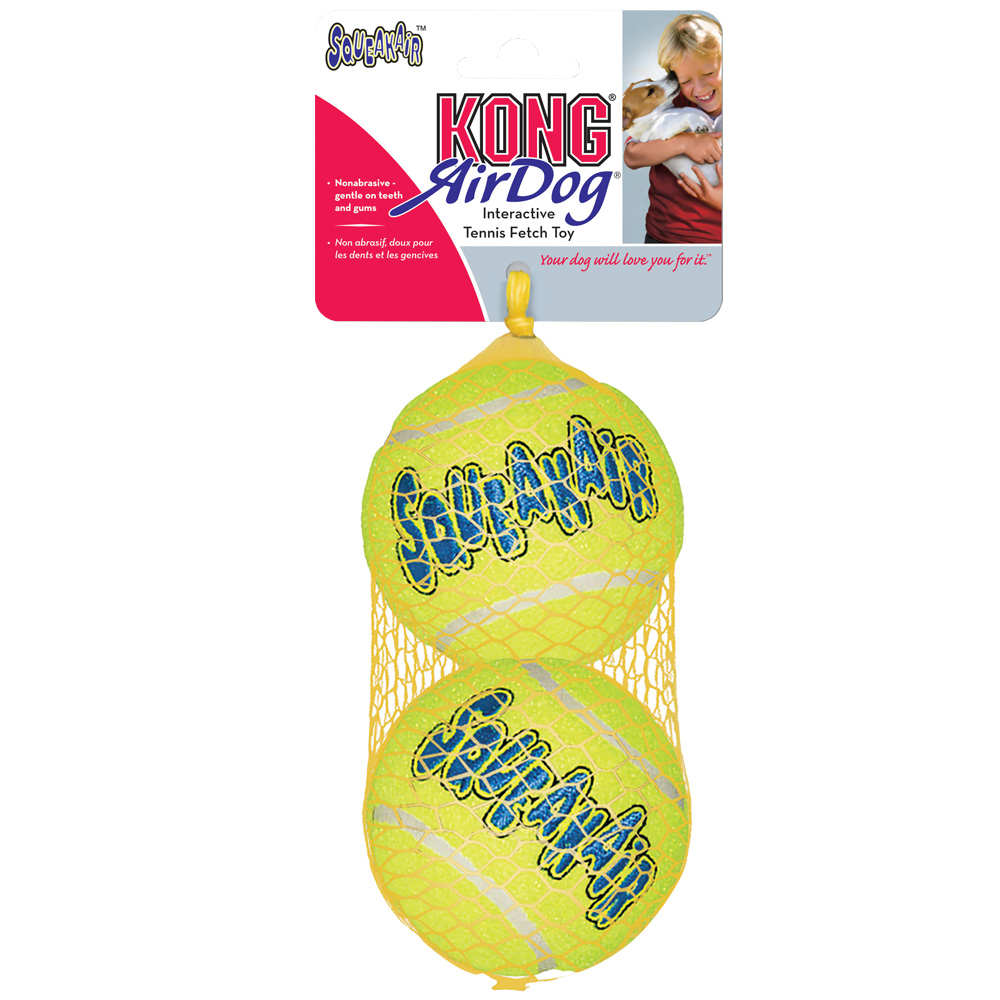 Air KONG Squeaker Tennis Ball (2-Pack) - Large im test