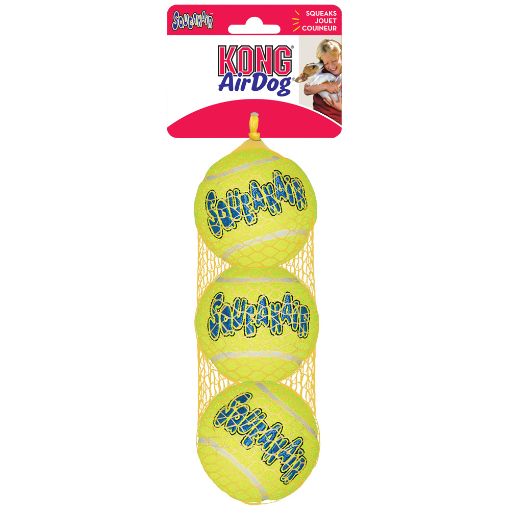 Air KONG Squeaker Tennis Ball (3-Pack) - Medium im test