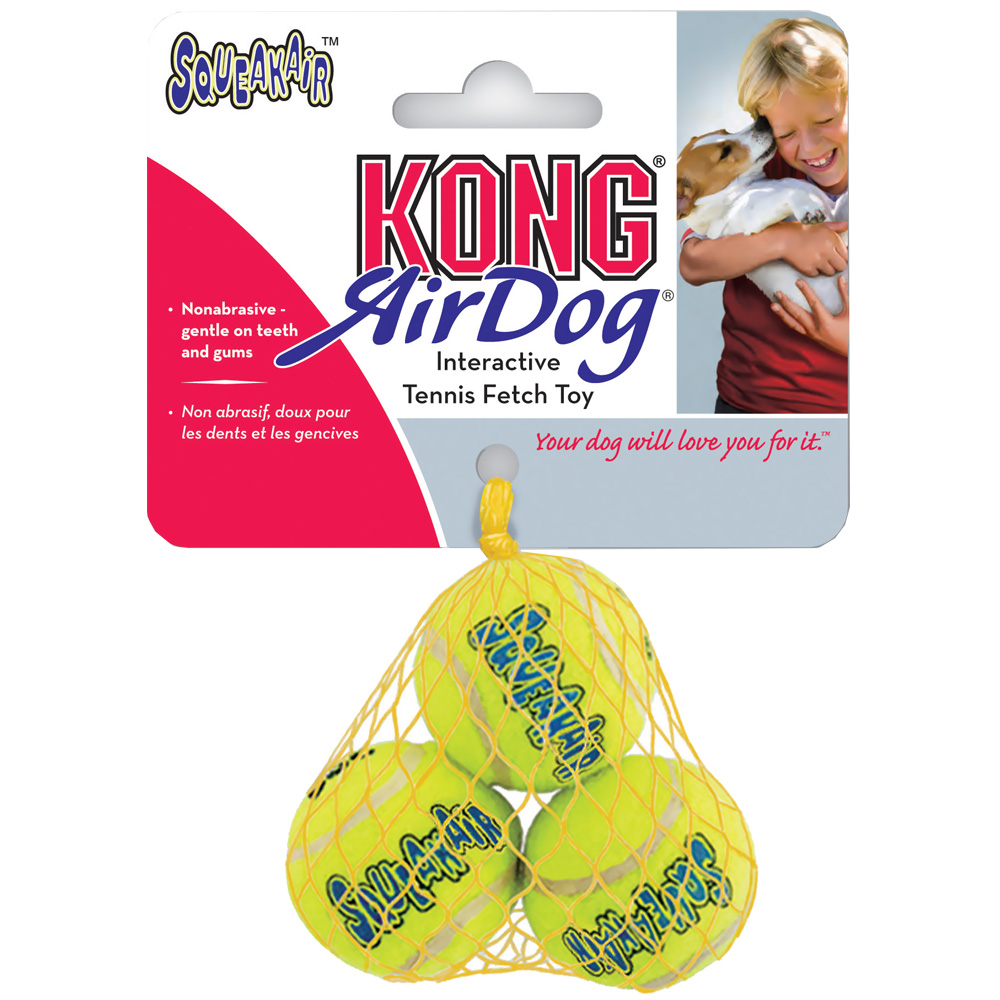 Air KONG Squeaker Tennis Ball (3-Pack) - Small im test