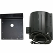 "AKOMA Heat-N-Breeze Heater with Igloo Bracket - Black (10"" x 10"" x 4.5"")"