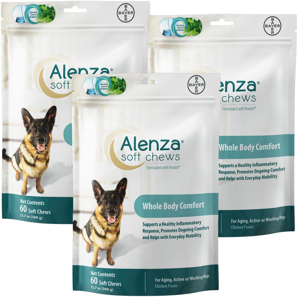 Alenza Soft Chews for Medium & Large Dogs 3-Pack (180 count) im test
