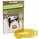 Alzoo Natural Repellent Flea & Tick Collar for Dogs - Large Breed