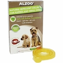 Alzoo Natural Repellent Flea & Tick Collar for Dogs - Puppy/Small Breed