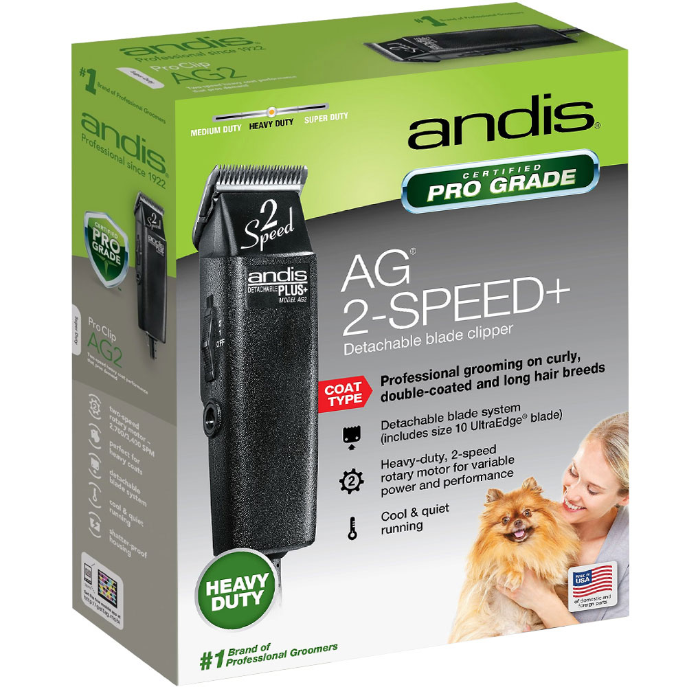 Andis ProClip AG2 Pet Clipper im test