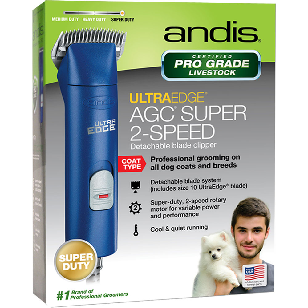 ANDIS-ULTRAEDGE-AGC-SUPER-2-SPEED-ANIMAL-CLIPPER-BLUE