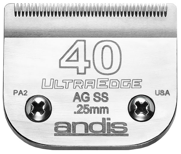 Andis UltraEdge Clipper Blade - Size 40SS im test