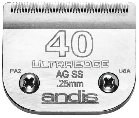Andis UltraEdge Clipper Blade - Size 40SS - For Dogs - from EntirelyPets