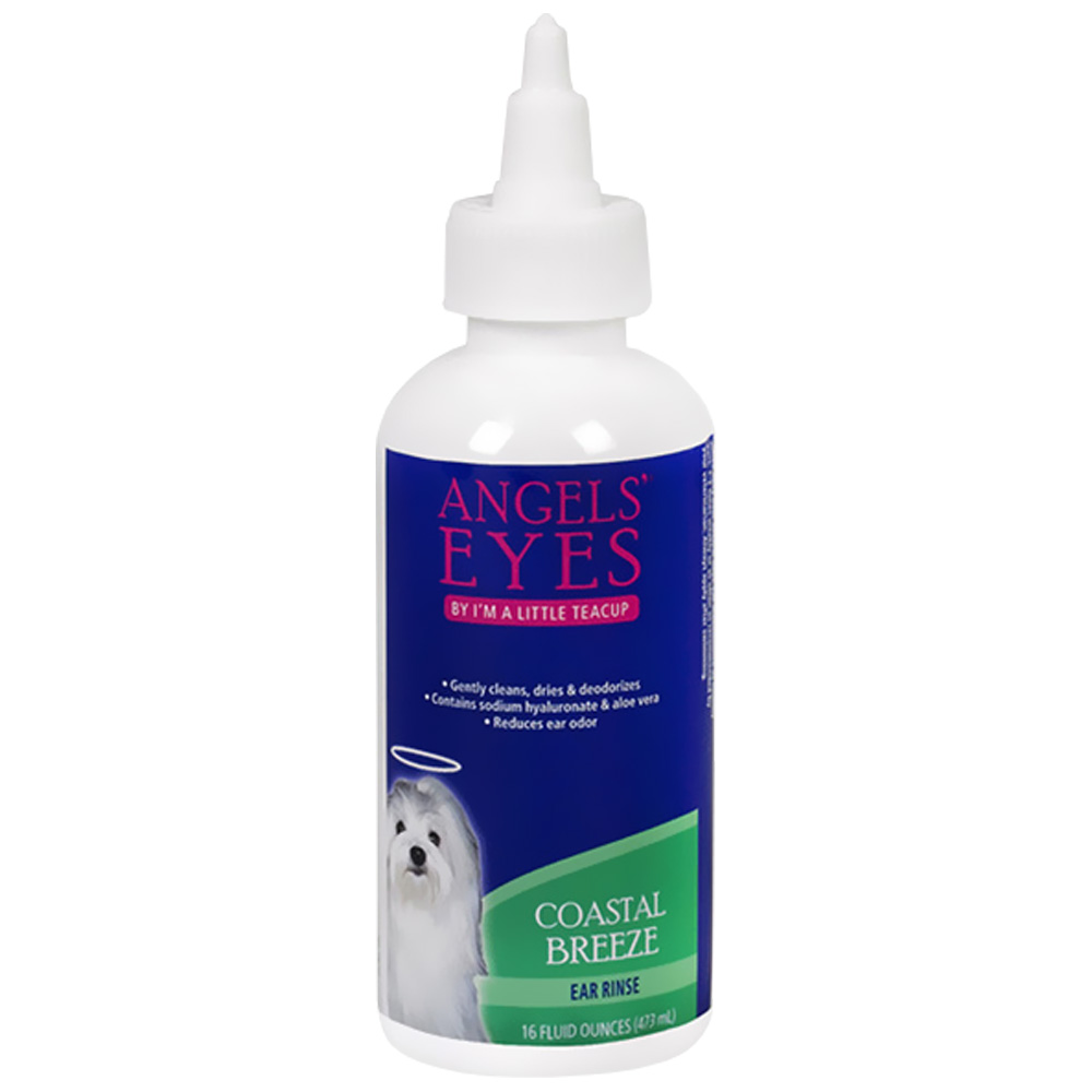 Angels' Eyes Coastal Breeze Ear Rinse - 4 oz. - For Dogs - from EntirelyPets