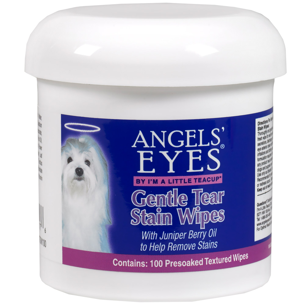 Image of Angels' Eyes Gentle Tear Stain Wipes (100 Count)