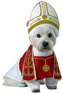 Image of Holy Hound Dog Costume - X-Small - from EntirelyPets