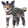 Animal Planet Zebra Dog Costume - Large