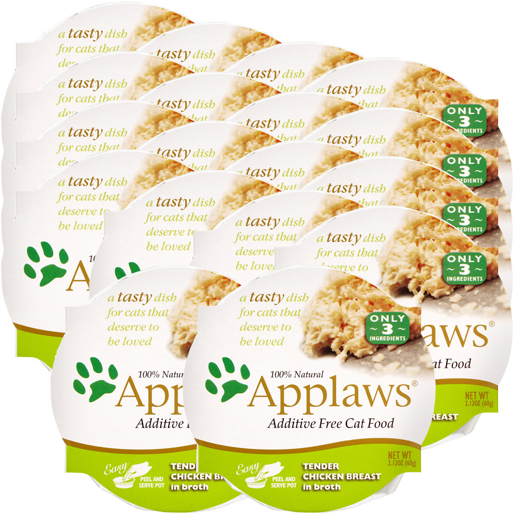 Image of Applaws Additive Free - Chicken Breast in Broth (18x2.12 oz)