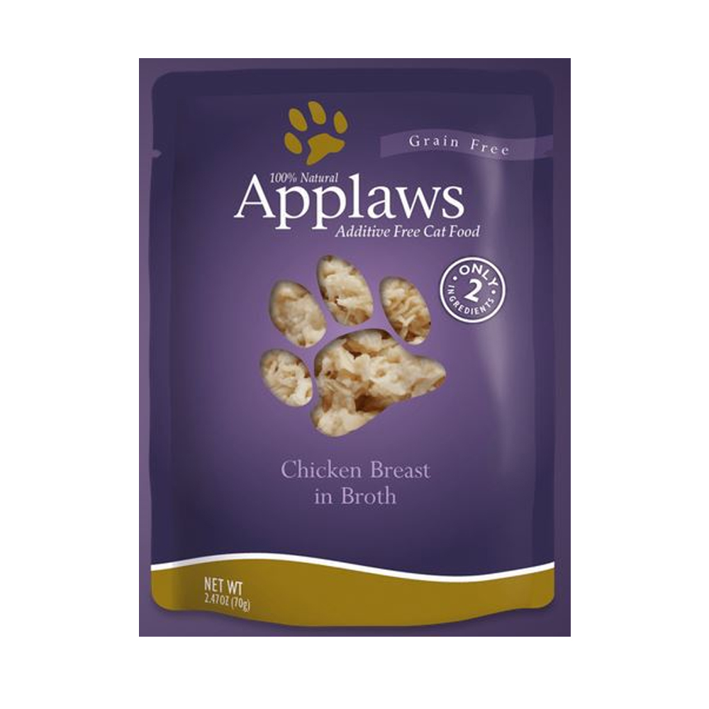 Image of Applaws Additive Free - Chicken Breast in Broth (2.47 oz)