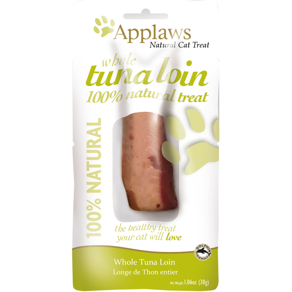 Image of Applaws Natural Cat Treat Whole Tuna Loin (1.06 oz)