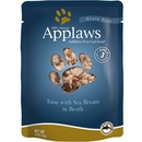 Applaws Additive Free - Tuna with Sea Bream in Broth (2.47 oz)