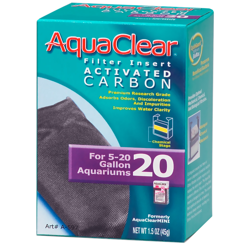 AquaClear 20 Filter Insert Activated Carbon (1.5 oz) im test