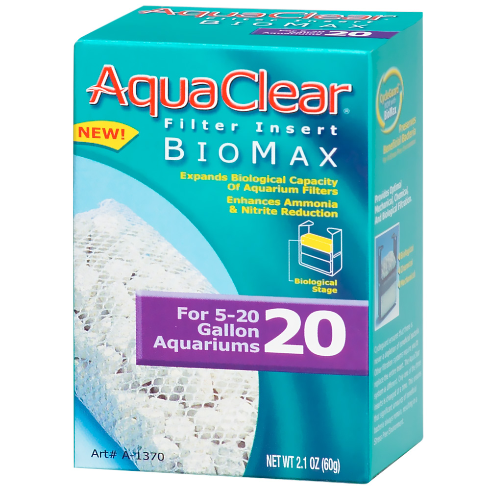 AquaClear 20 Filter Insert Biomax (2.1 oz) im test