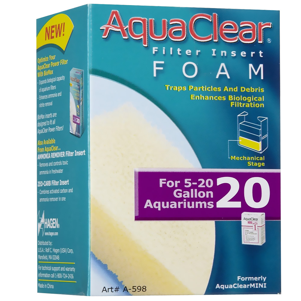 AquaClear 20 Filter Insert Foam im test