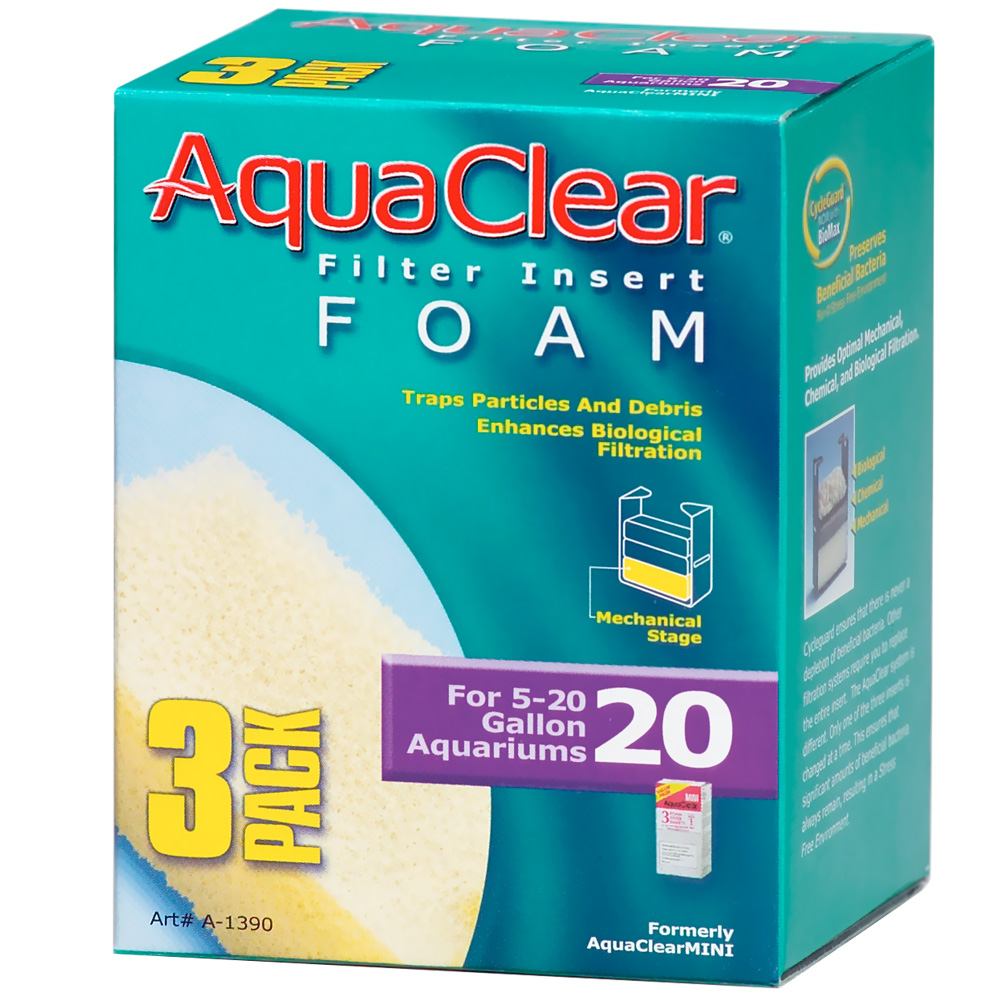 AquaClear 20 Filter Insert Foam (3 pack) im test