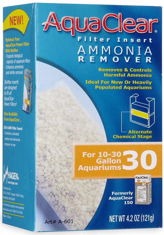 AquaClear 30 Filter Insert Ammonia Remover (4.2 oz) im test