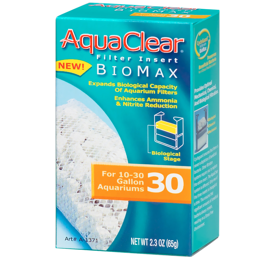 AquaClear 30 Filter Insert Biomax im test