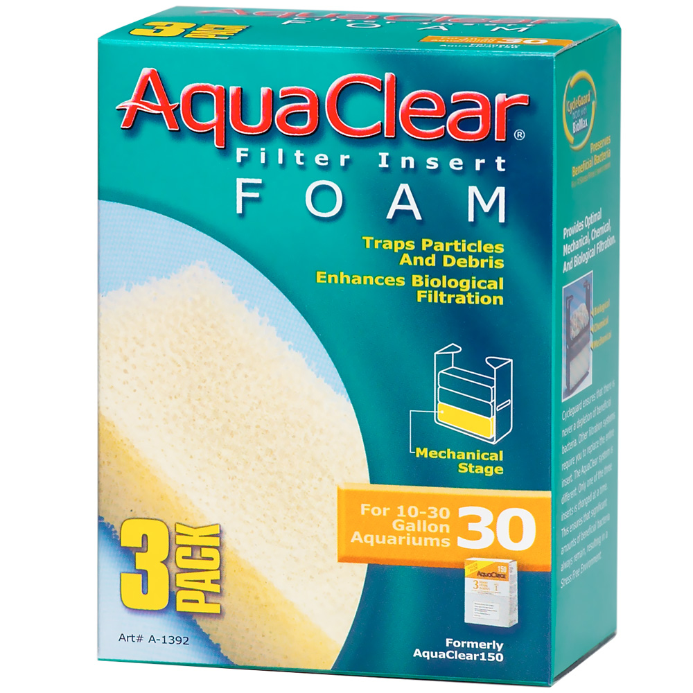 AquaClear 30 Filter Insert Foam (3 pack) im test