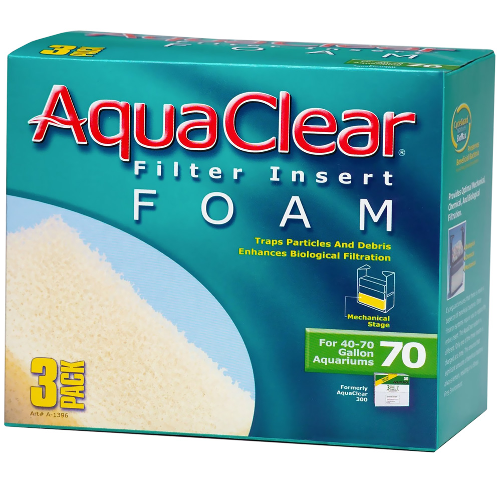AquaClear 70 Filter Insert Foam (3pk) im test