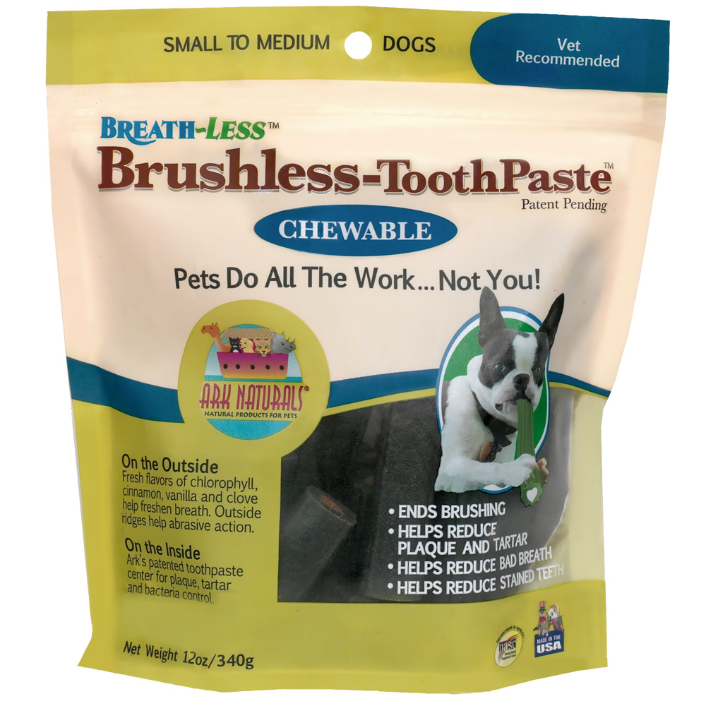 Ark Naturals Breath-less Brushless-Toothpaste Small (12 oz.)