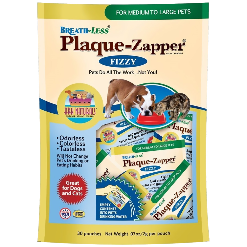 Image of Ark Naturals BREATH-LESS Plaque Zapper MED/LG (30 pouches)