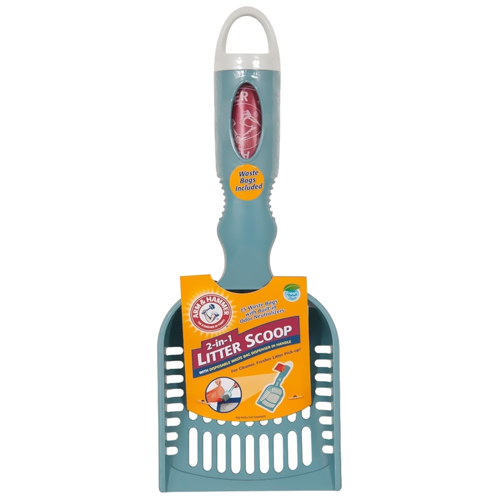 Arm & Hammer Deluxe 2-In-1 Litter Scoop from EntirelyPets