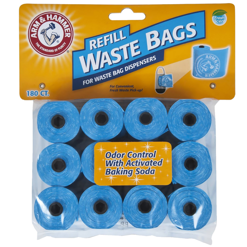 ARM-HAMMER-DISPOSABLE-WASTE-BAG-REFILLS-180-PACK