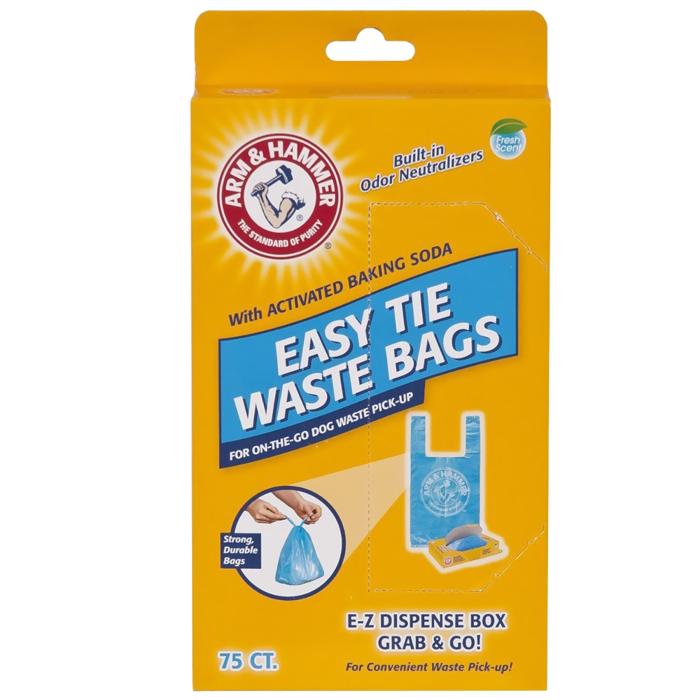 Arm & Hammer Easy-Tie Waste Bags (75 Count) im test