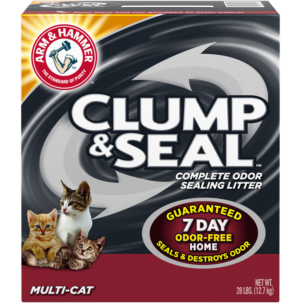 ARM-HAMMER-MULTI-CAT-CLUMP-ODOR-SEALING-LITTER-28LB