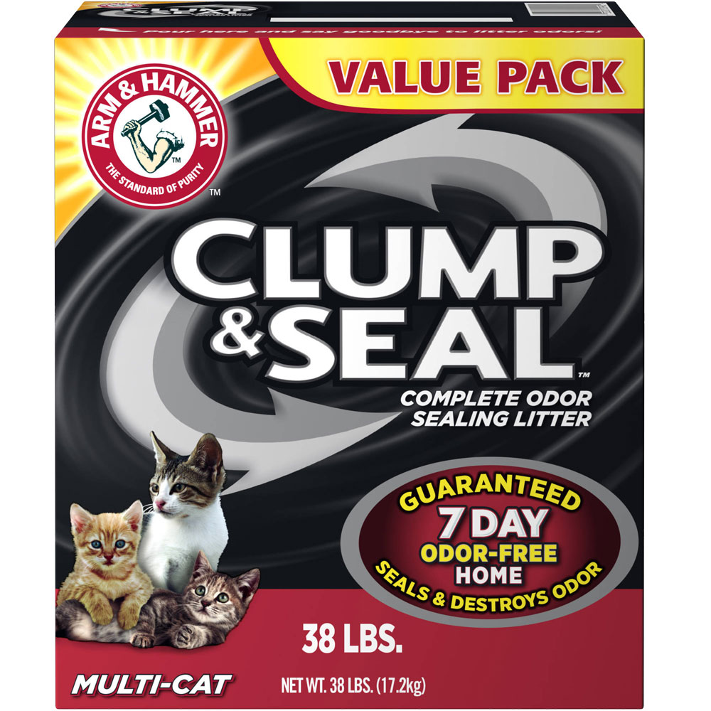 ARM-HAMMER-MULTI-CAT-CLUMP-ODOR-SEALING-LITTER-38LB