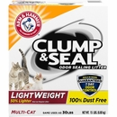 Arm & Hammer Multi-Cat Clump & Seal Lightweight Multi-Cat Litter (15 lb)