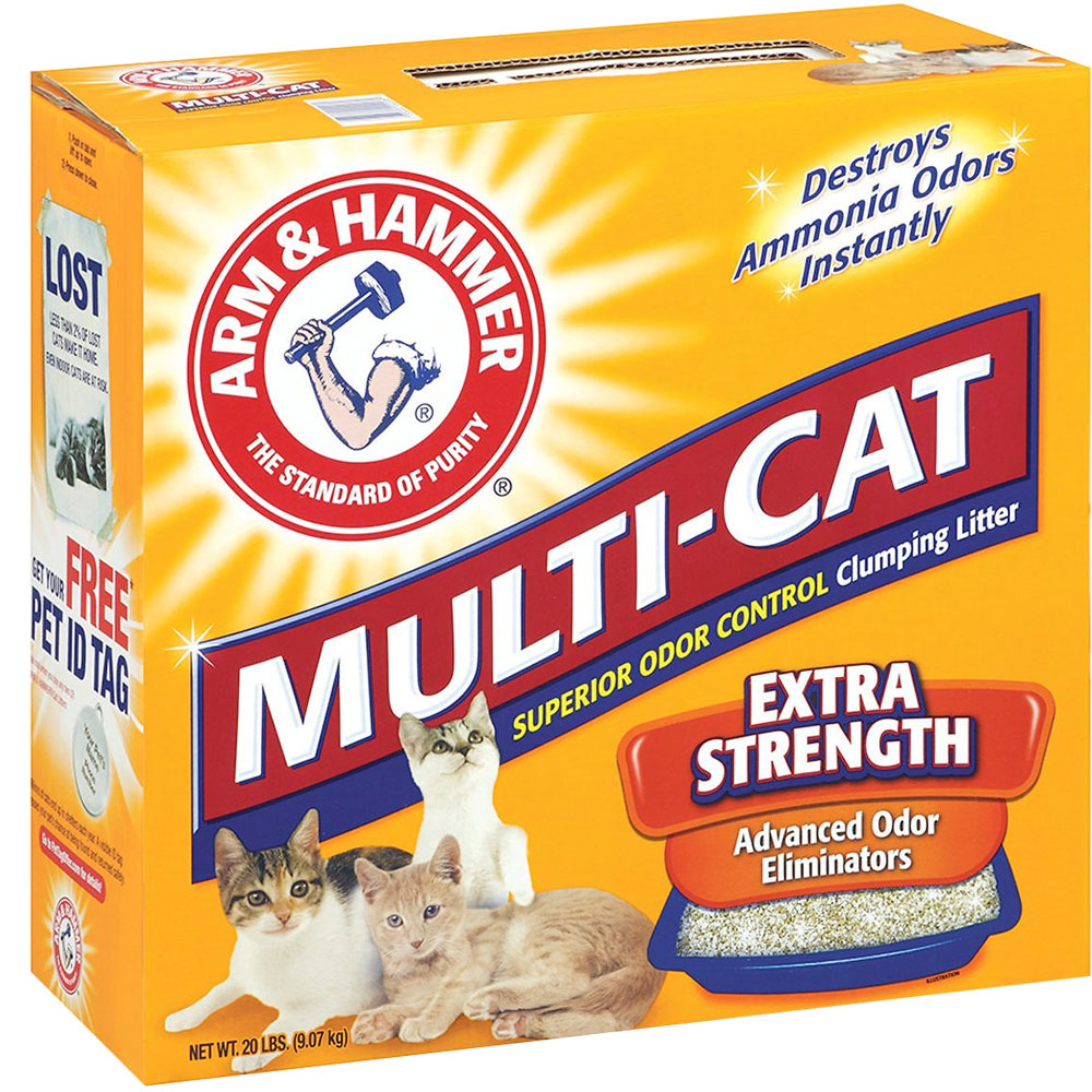 ARM-HAMMER-MULTI-CAT-EXTRA-STRENGTH-CLUMPING-LITTER-20LB
