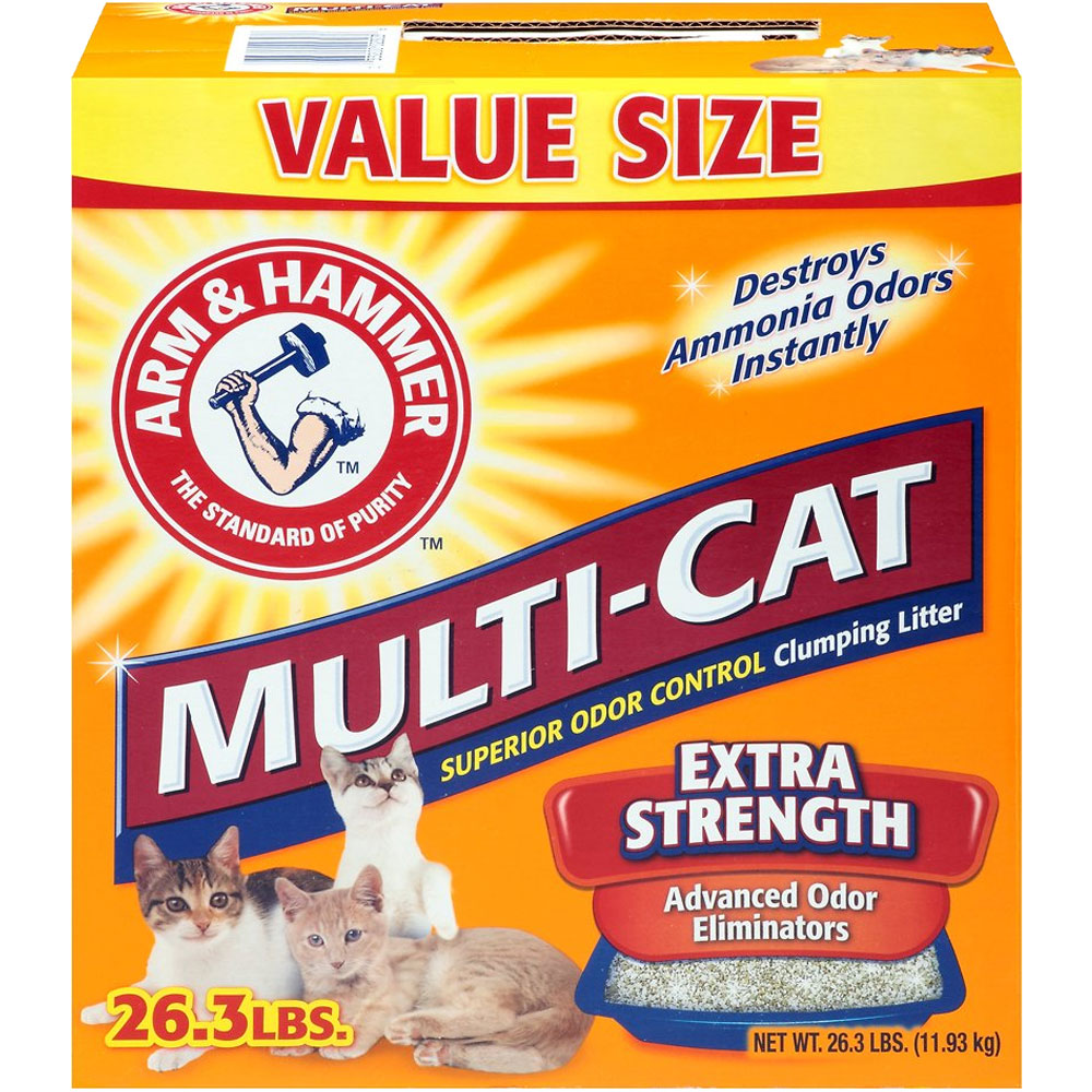Arm & Hammer Multi-Cat Extra Strength Clumping Litter - 26.3 lb - from EntirelyPets
