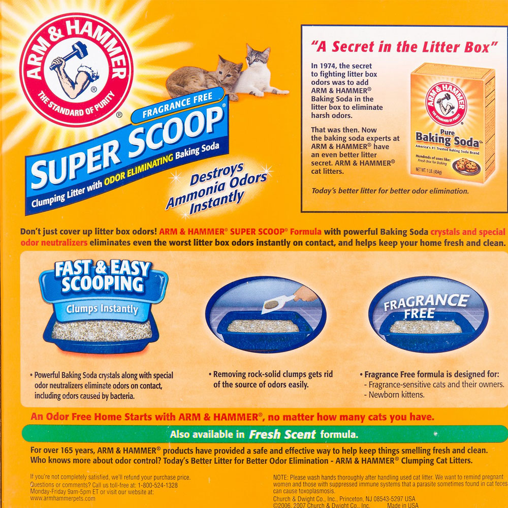ARM-HAMMER-SUPER-SCOOP-CLUMPING-LITTER-FRAGRANCE-FREE-20LB