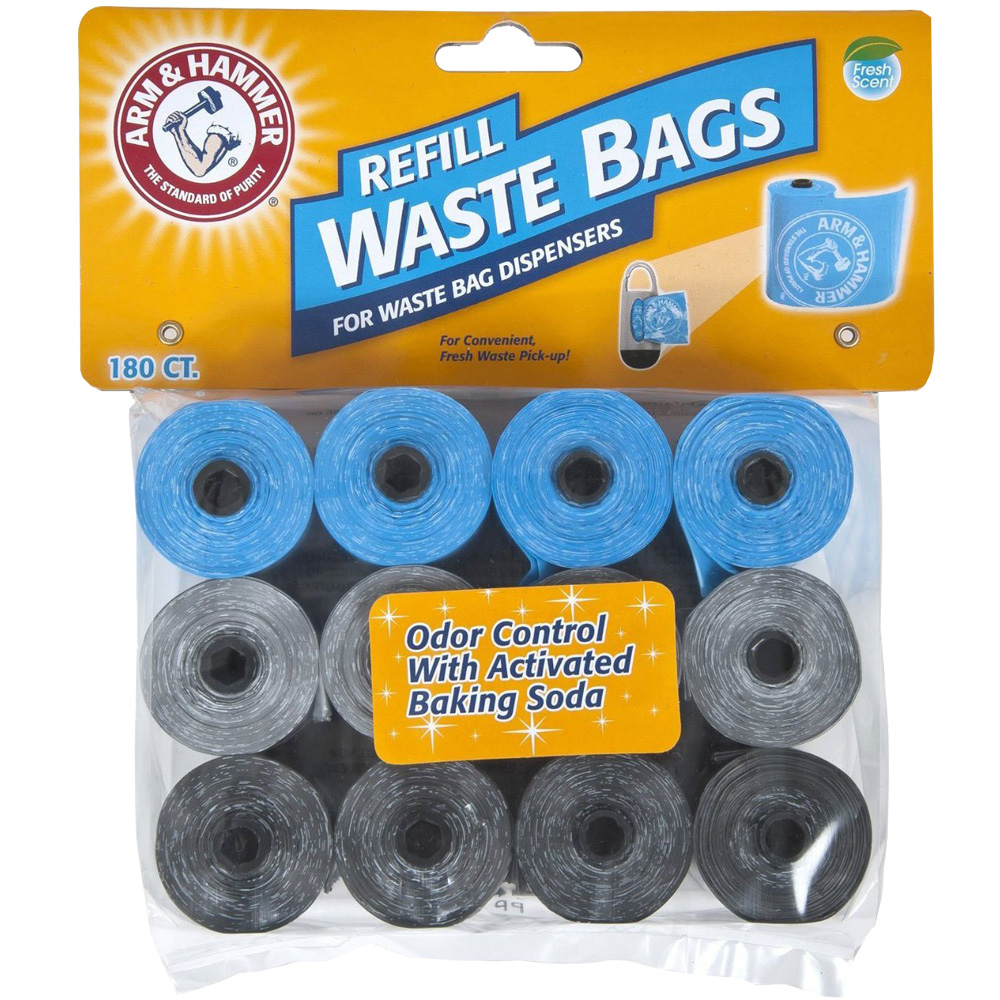 Arm & Hammer Refill Waste Bags Assorted Colors (180 pack) im test
