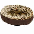 Aspen Pet Round Bed Animal Print - 18""