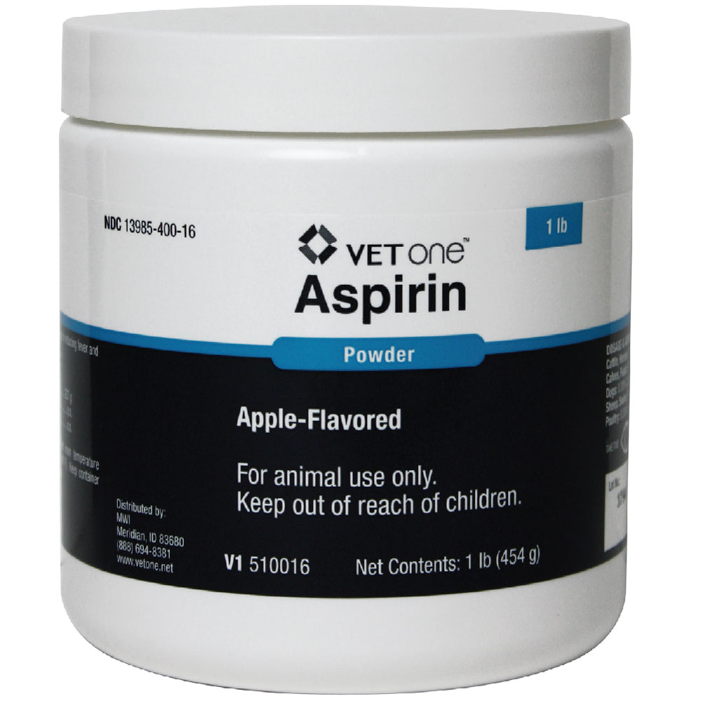 Aspirin Powder, Apple-Flavored, 1lb im test