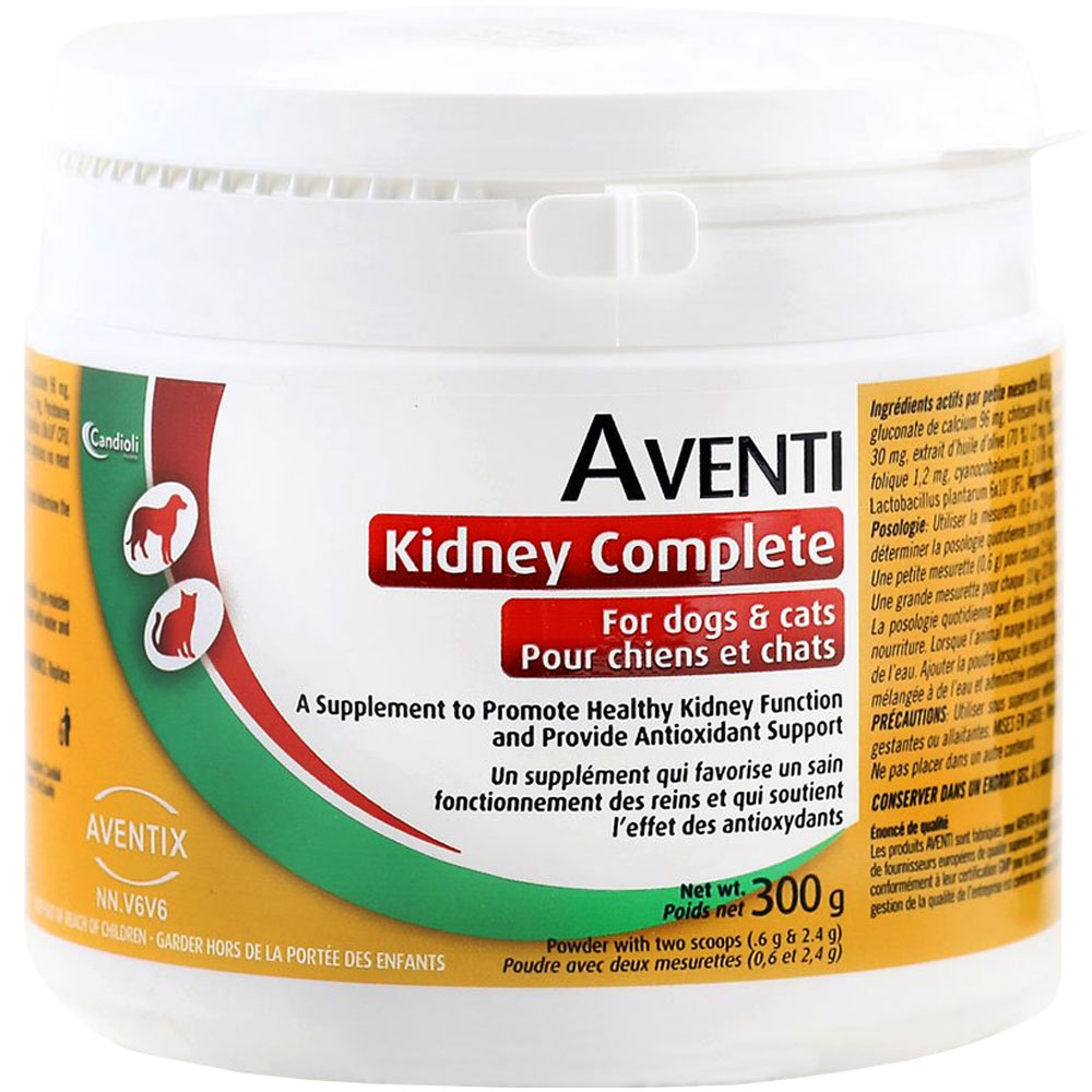 Aventi Kidney Complete for Dogs & Cats (300 gm) im test