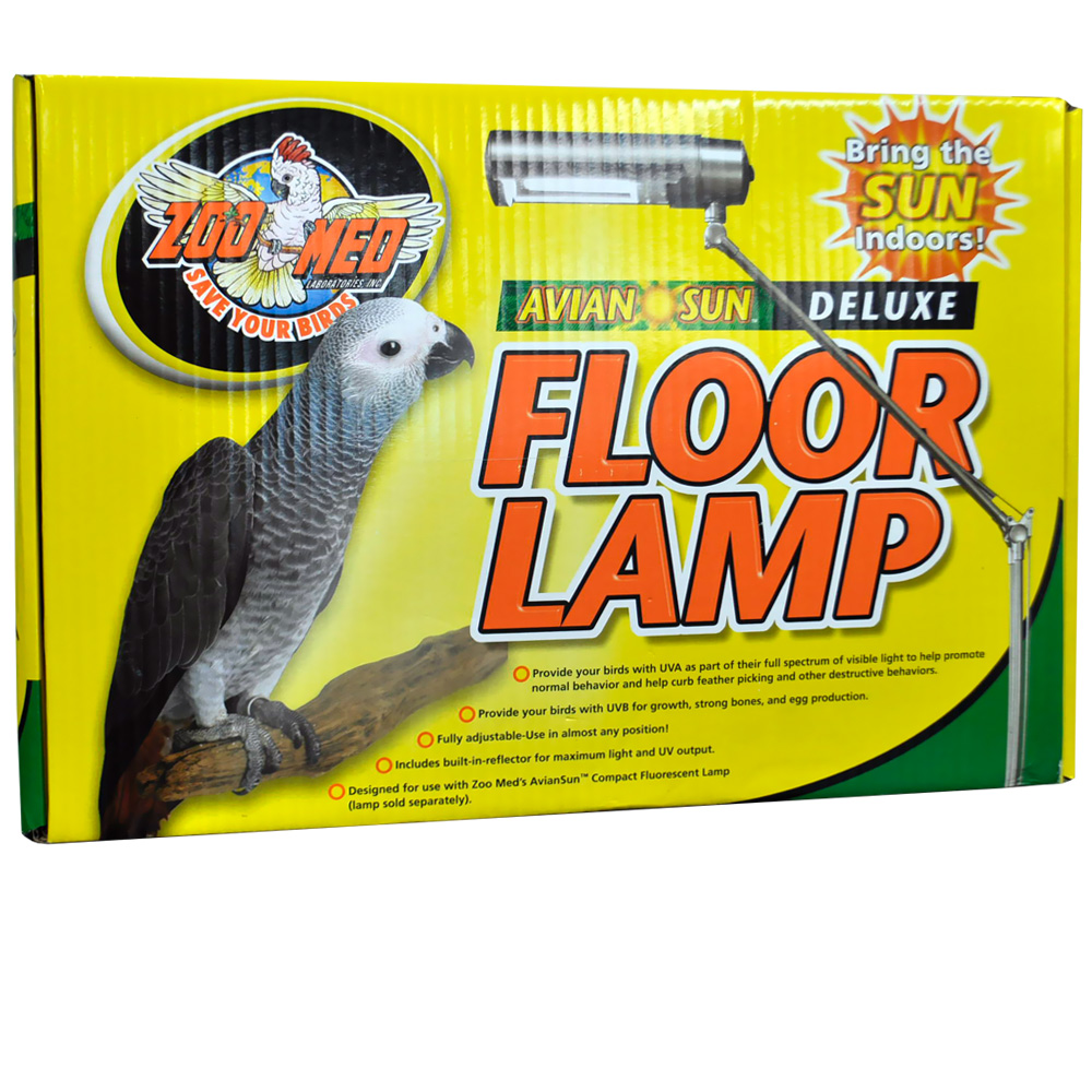 Image of AvianSun Deluxe Floor Lamp - bulb not included - from EntirelyPets