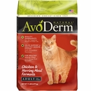 AvoDerm Chicken & Herring Meal Formula Dry Cat Food (11 lb)