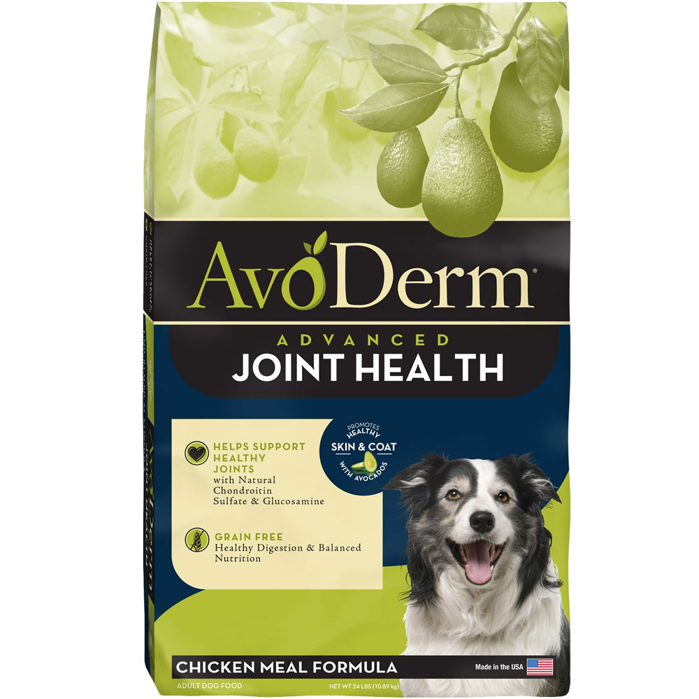 Image of AvoDerm Joint Health Chicken Meal Formula Dry Dog Food (24 lb)