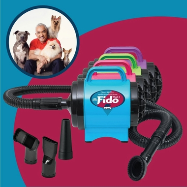 B-AIR-FIDO-MAX-DRYER-PINK