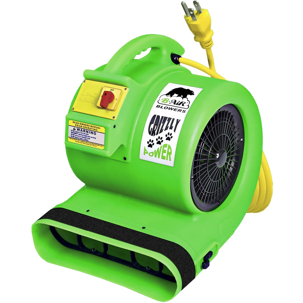 B-AIR-GRIZZLY-CAGE-DRYER-GREEN