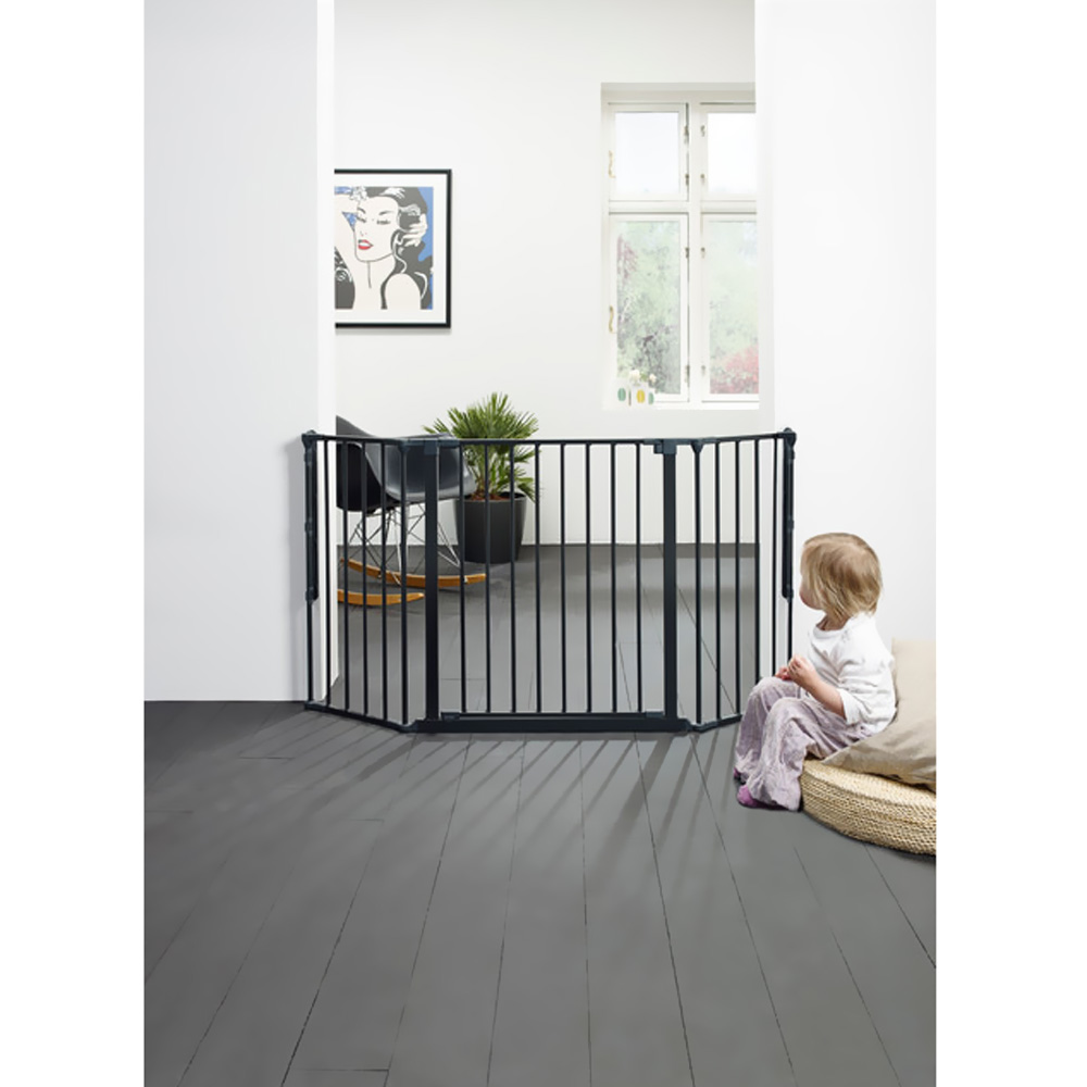 BABYDAN-FLEX-GATE-BLACK-MEDIUM